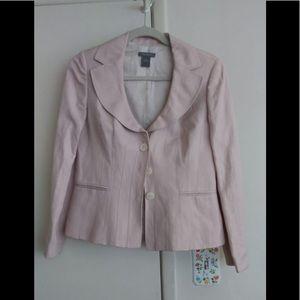 Ann Taylor light pink blazer size 6 Petite